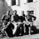 Hans WOJTASZYK et des camarades prisonniers