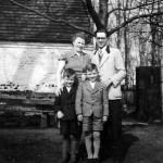 Hans et Elfriede WOJTASZYK et leurs deux fils