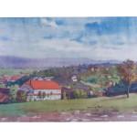 Aquarelle H.Müller Citadelle 1945-1946 (14)