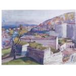 Aquarelle H.Müller Citadelle 1945-1946 (3)