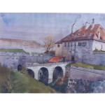 Aquarelle H.Müller Citadelle 1945-1946 (7)